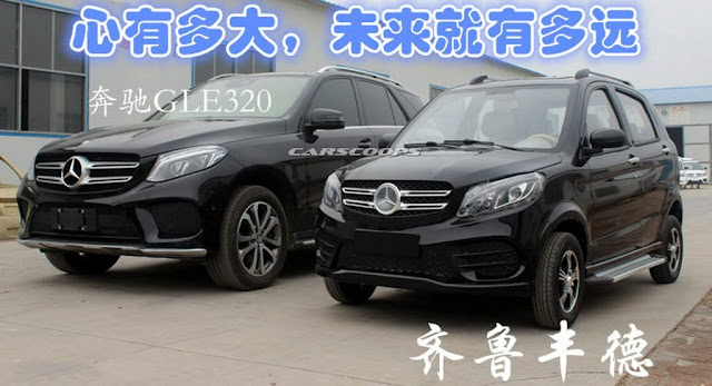 copia cinese Mercedes GLE
