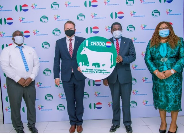 FG, Governors, Others Commend FrieslandCampina on Nigerian-Dutch dairy centre  - etc