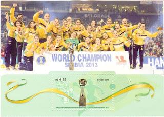 Serie World Champion Serbia in 2013