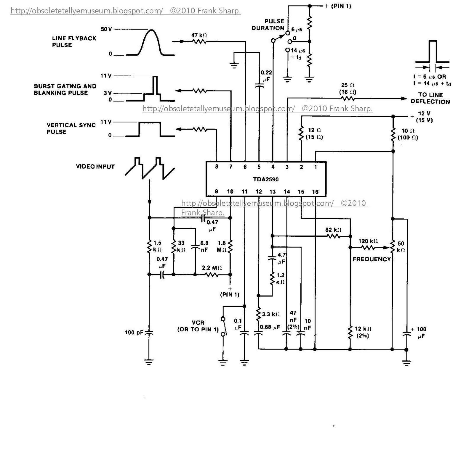 internal wiring diagram of fsv20a001 flyback
