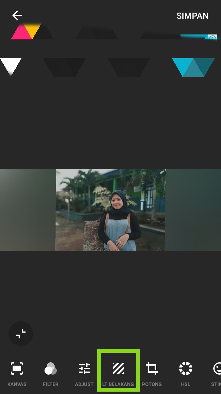 tutorial edit foto di inshot