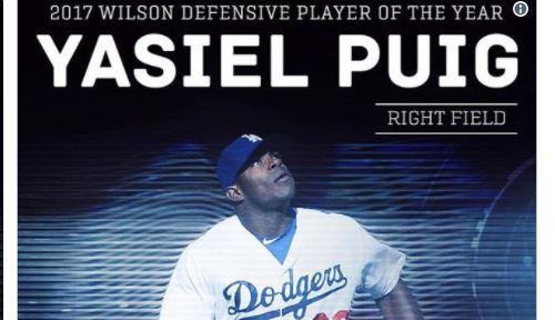 Los jugadores que se desempeñaron al más alto nivel del béisbol en el 2017 fueron reconocidos en la presentación de los premios Wilson al Mejor Jugador Defensivo de Major League Baseball
