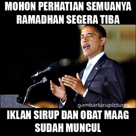 50 Meme Lucu Puasa Ramadhan 2017 Gambar Lucu Terbaru