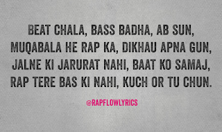 Hindi Rap Quote - Freestyle | Diss | Haters