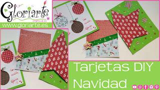 3 ideas de tarjetas gloriarte navideñas