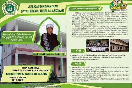 Dayah Ihyaul Ulum Al Aziziyah Buka Pendaftaran Santri Baro