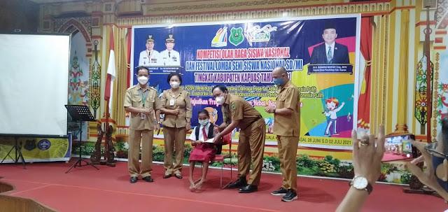 Kembangkan Bakat Siswa, Disdik Kapuas Gelar Kompetisi Olahraga Siswa Nasional Dan Festival Lomba Seni Siswa Nasional