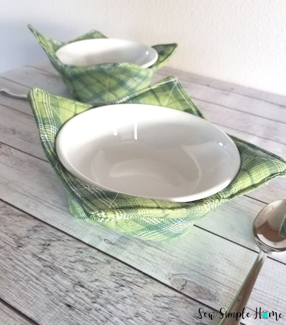 bowl cozy tutorial
