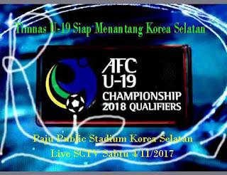 Timnas U-19 Siap Menantang Korea Selatan