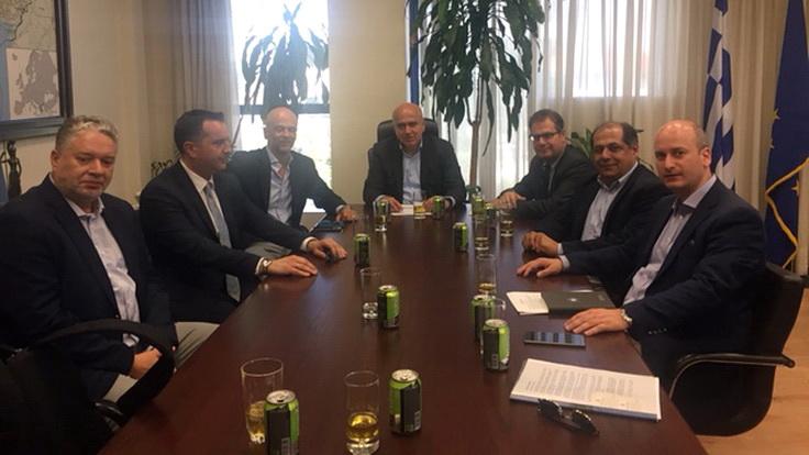 Συνάντηση του Περιφερειάρχη ΑΜ-Θ με τον Πρόεδρο του Συνδέσμου Ελληνικών Τουριστικών Επιχειρήσεων