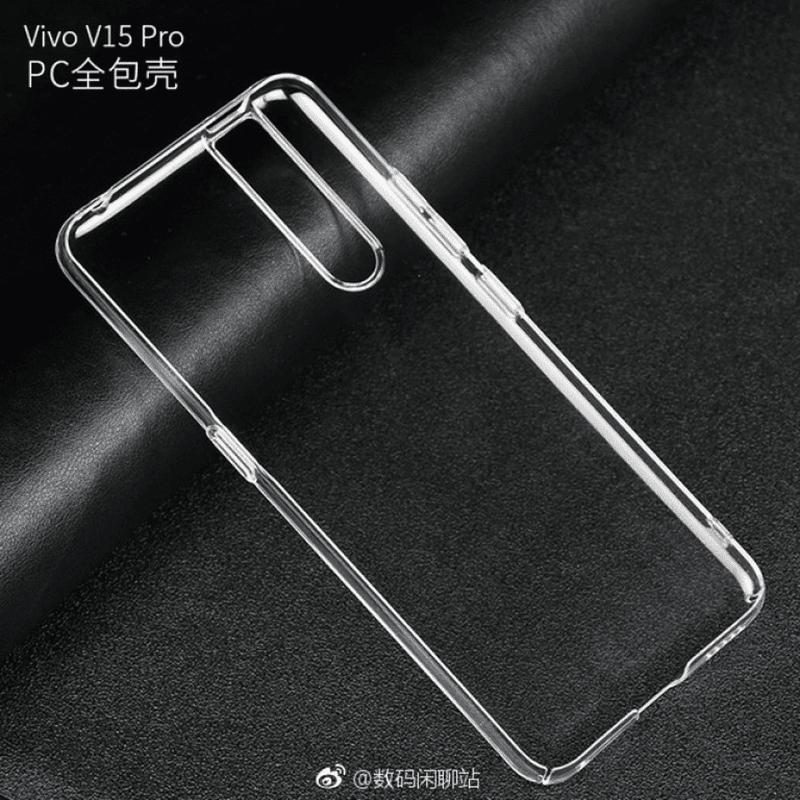 Vivo V15 Pro's case