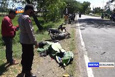 Pengendara Motor Tewas Tertabrak Truk Di Ngawi