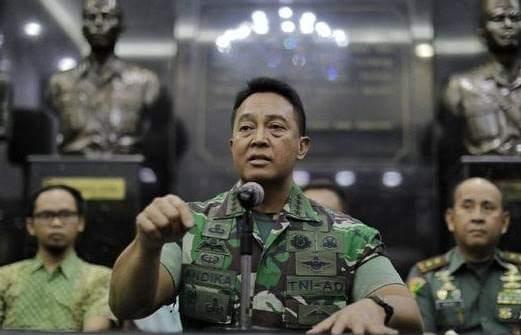 Tidak Pecat Enzo : Salut dan Hormat Kepada KSAD dan TNI