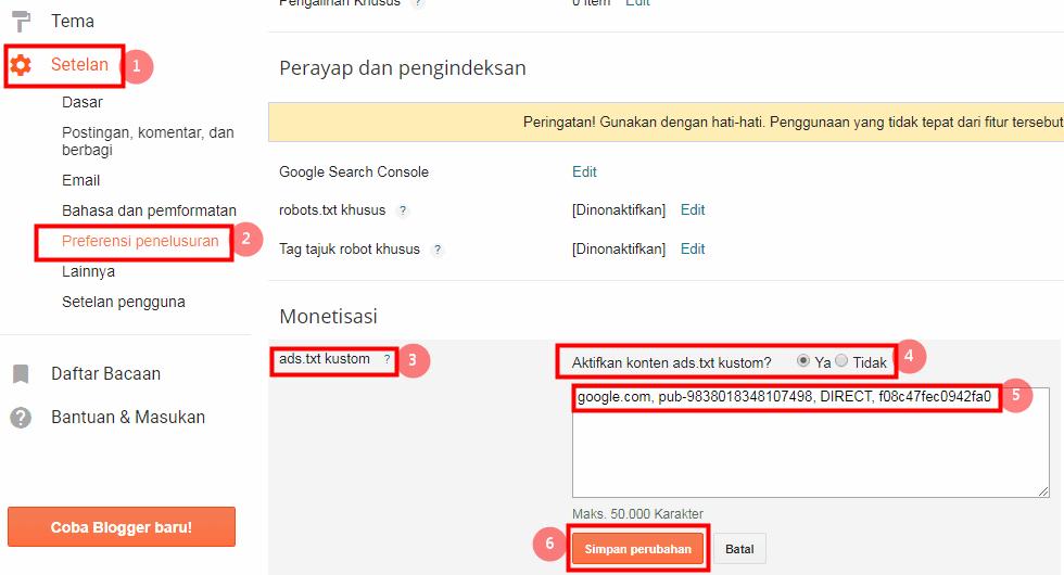 Panduan Ads.txt