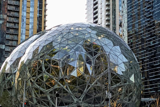 One day in Seattle: Amazon Sphere (aka Jeff's Balls)