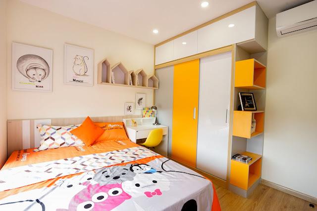 Phòng ngủ nhỏ với diện tích 10m2