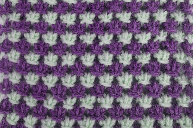 4 - Crochet Imagen Puntada tunecina a crochet y ganchillo por Majovel Crochet