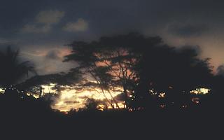 Senja di Pantai Panjang