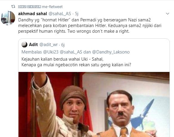 Abu Janda Hitler