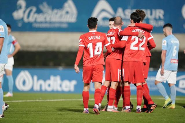 Crónica CD Ciudad de Lucena 0 - Sevilla FC 3