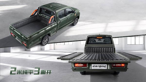 GM Wuling: picape cabine dupla com preço abaixo de R$ 50 mil - China