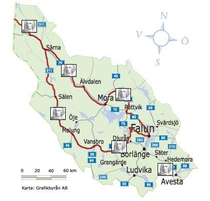 karta över dalarna Karta över Dalarna Regionen | Karta över Sverige, Geografisk  karta över dalarna