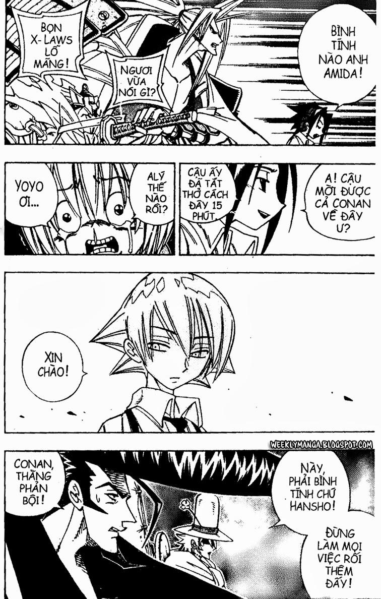 Shaman King [Vua pháp thuật] chap 156 trang 14