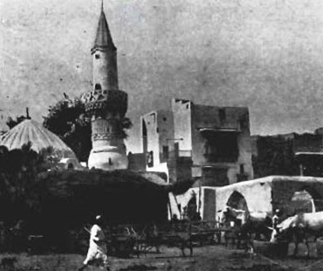 مسجد الخليفة ابو بكر الصديق بالمدينة المنورة 1908م