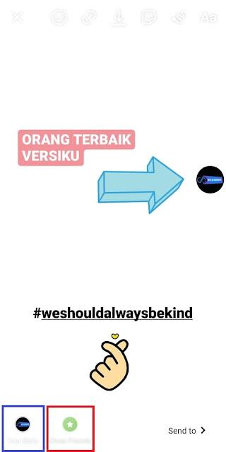 Cara Membuat #WeShouldAlwaysBeKind