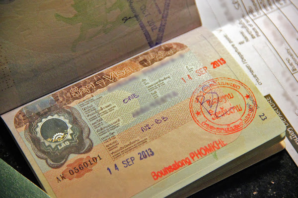Visa to Laos