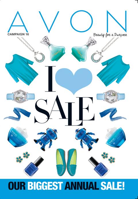 Avon Campaign 16 I LOVE SALE! SHOP TODAY!