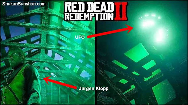 UFO Alien Red Dead Redemption 2 Easter Egg Lokasi