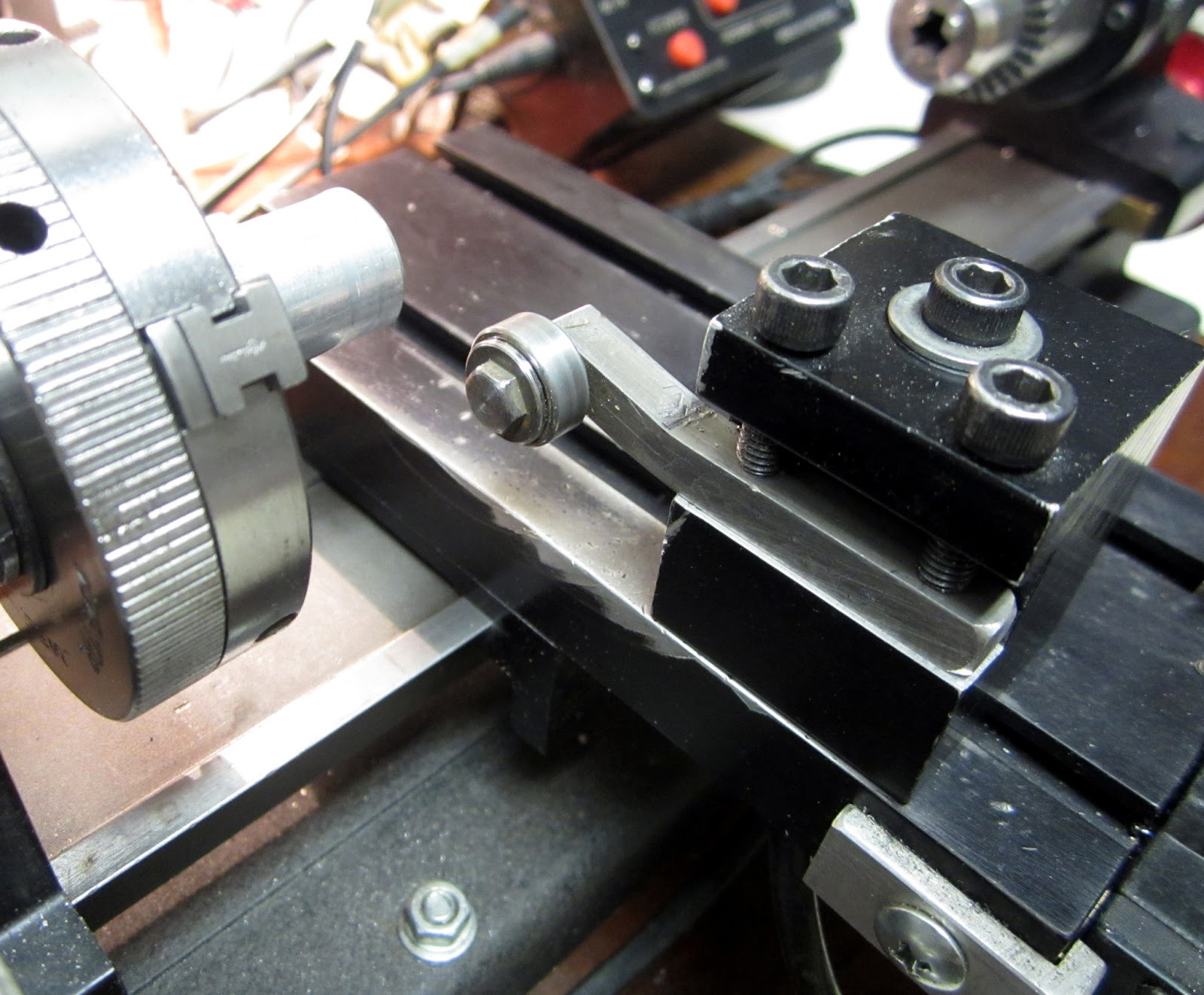 MI Shop Tools Inventions: Sherline Lathe - Workpiece