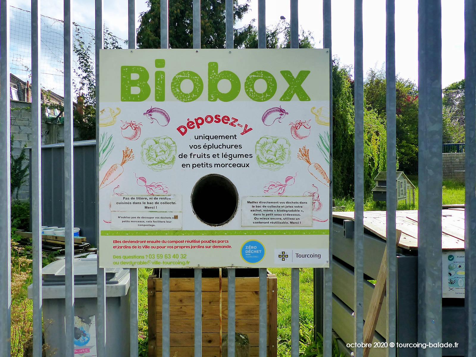 Biobox Rue Blanche Porte, Tourcoing
