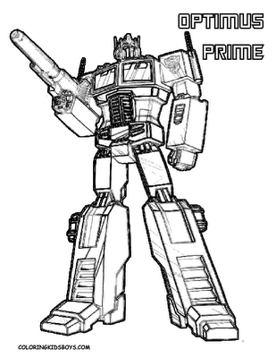 Cartoons Coloring Pages: Transformers Coloring Pages Bumblebee