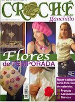 Flores Crochet Temporada.Revista