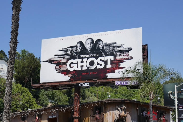 Power Book II Ghost series billboard