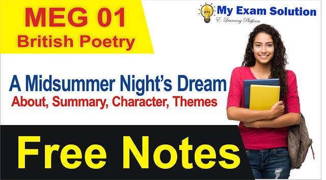 british dramam, a midsummer nights dream, midsummer summary, midsummer nights dream pdf