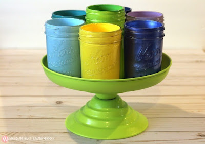 mason jars craft caddy