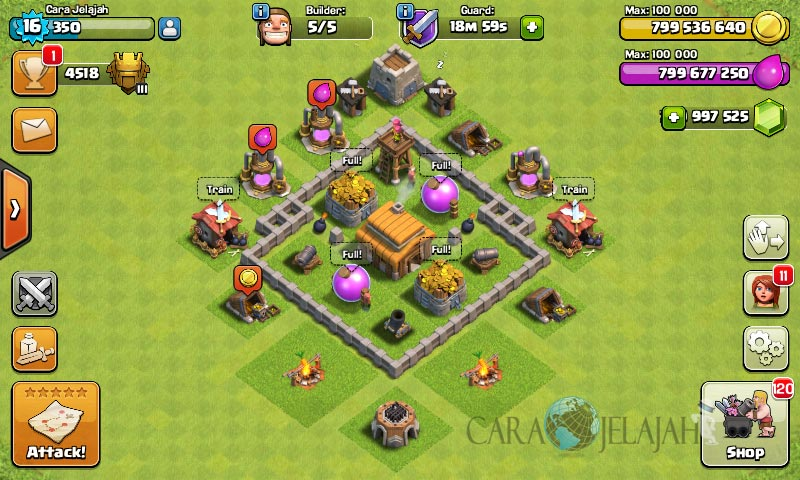 Desain Base Town Hall 3 Terbaik Dan Terbaru Clash Of Clans 21