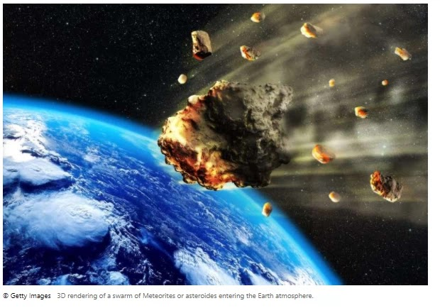Asteroid flies by Earth closer than any seen before, Nasa says A space rock
