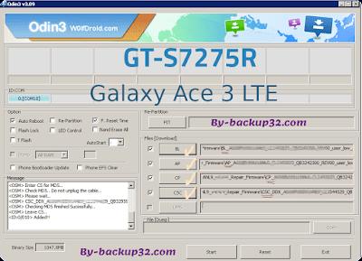 سوفت وير هاتف Galaxy Ace 3 LTE موديل GT-S7275R روم الاصلاح 4 ملفات تحميل مباشر