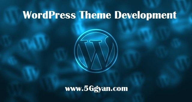 WordPress Theme Development with Bootstrap in Hindi