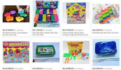 Bisnis Mainan Anak Play Doh