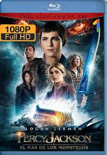 Percy Jackson y El Mar de Los Monstruos (2013) [1080p BRrip] [Latino-Inglés] [LaPipiotaHD]
