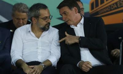 Weintraub com Bolsonaro