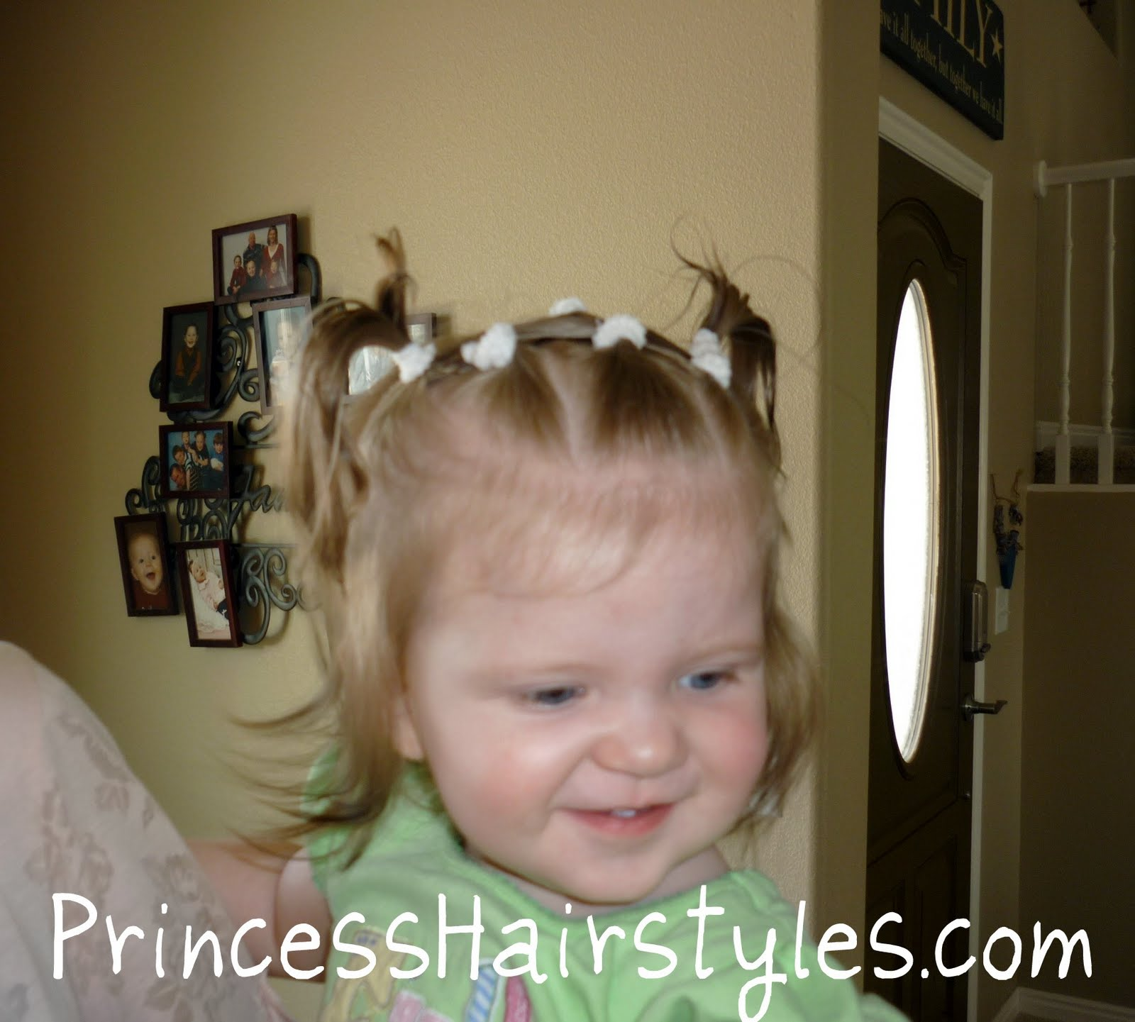 Baby Hairstyles - Criss Cross Pigtails | Hairstyles For Girls ...