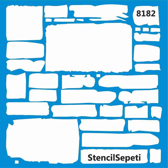 Трафарет для штукатурки под камень Симферополь