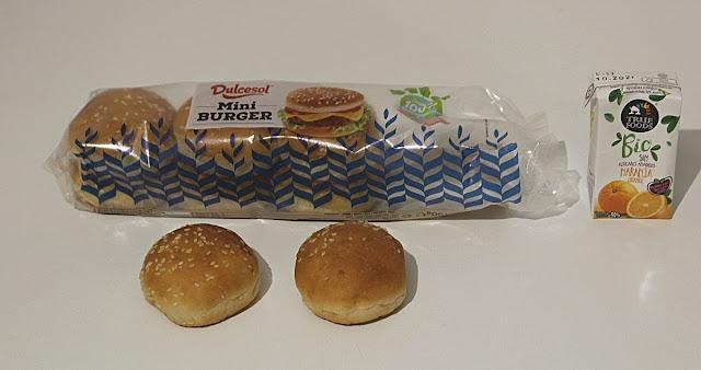 Mini Burger Dulcesol