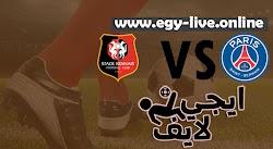 مشاهدة مباراة باريس سان جيرمان ورين بث مباشر رابط ايجي لايف 07-11-2020 في الدوري الفرنسي